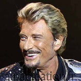 PORTRAIT DE JOHNNY HALLYDAY - KIT BRODERIE DIAMANTS