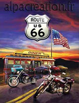 ROUTE 66 - KIT BRODERIE DIAMANTS