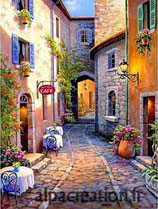 RUELLE DE PROVENCE - KIT BRODERIE DIAMANTS