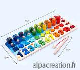 Table d'activité Montessori  - Ref J