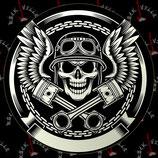 Наклейка Skull 3