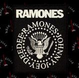 Нашивка катаная Ramones