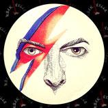 Значок большой David Bowie