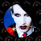 Значок Marilyn Manson 9