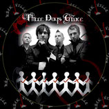 Наклейка Three Days Grace