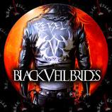 Значок большой Black Veil Brides 1