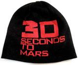 Шапка вязаная 30 Seconds to Mars