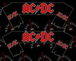 Шарф AC/DC 1