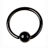 Кольцо со съемным шариком 10 мм.