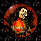 Значок Bob Marley 3