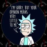 Наклейка Rick & Morty 2