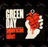 Нашивка катаная Green Day 2