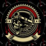 Наклейка Skull 1