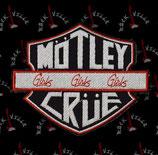 Нашивка Motley Crue 2