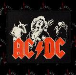 Нашивка катаная AC/DC 1