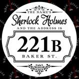 Наклейка Sherlock 3