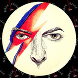 Наклейка David Bowie 2