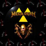 Значок Megadeth 4