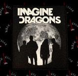 Нашивка катаная Imagine Dragons