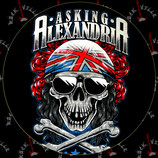 Наклейка Asking Alexandria 3