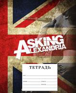 Тетрадь Asking Alexandria