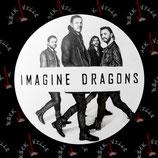 Значок Imagine Dragons 9