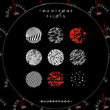 Наклейка Twenty One Pilots 1