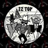 Значок ZZ Top 1