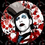 Наклейка Marilyn Manson 3