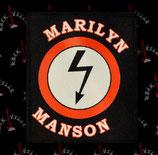 Нашивка катаная Marilyn Manson