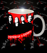 Кружка System Of A Down 2