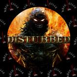 Значок Disturbed 3