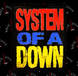 Нашивка катаная System Of A Down