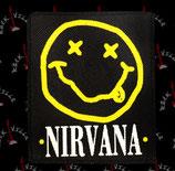Нашивка катаная Nirvana