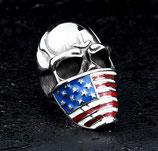 Кольцо American Flag Mask