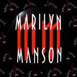 Значок Marilyn Manson 2