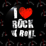 Значок I Love Rock'n'Roll
