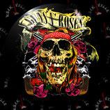 Значок большой Guns'n'Roses