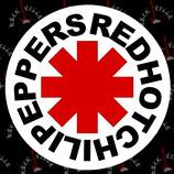 Наклейка Red Hot Chili Peppers