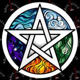 Наклейка Pentagram 1