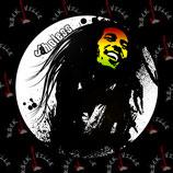 Значок Bob Marley 2