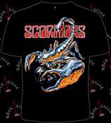Футболка Scorpions 3
