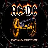 Наклейка AC/DC 1