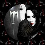 Значок Marilyn Manson 10
