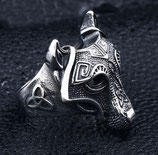Кольцо Viking's Mask