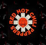 Нашивка катаная Red Hot Chili Peppers