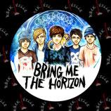 Значок Bring Me The Horizon 10