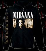 Толстовка на молнии Nirvana