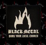 Нашивка Black Metal