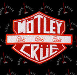 Нашивка Motley Crue 1